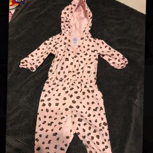 Carters 12 month hooded body suit